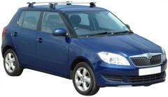Багажник на крышу для Skoda Fabia II '07-14, сквозной (Whispbar-Prorack)