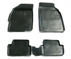 Коврики в салон для Chevrolet Spark '11- полиуретановые, черные (L.Locker)