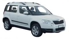Багажник на рейлинги для Skoda Yeti '09-17, вровень рейлинга (Whispbar-Prorack)