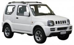 Багажник на рейлинги для Suzuki Jimny '98-, вровень рейлинга (Whispbar-Prorack)