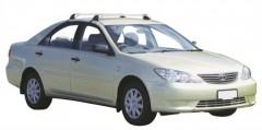 Багажник на крышу для Toyota Camry V30 '02-06, до края опоры (Whispbar-Prorack)