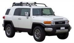 Багажник на рейлинги для Toyota FJ Cruiser '06-, до края опоры (Whispbar-Prorack)