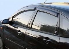 Дефлекторы окон для BMW 3 E90 '05-11 (Cobra)