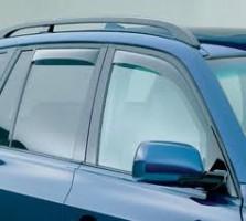 Дефлекторы окон для BMW X3 E83 '03-09 (Cobra)
