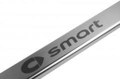 Фото 2 - Накладки на пороги для Smart Fortwo (Premium)
