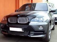 Дефлекторы окон для BMW X6 E71 '08- (Cobra)