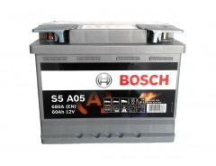 Автомобильный аккумулятор BOSCH Silver (S5A050) 60Ач