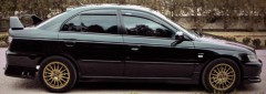 Дефлекторы окон для Honda Accord 8 '08-13 седан EUR (Cobra)
