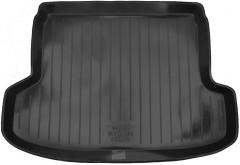 Коврик в багажник для Kia Rio '05-11 седан, резиновый (Lada Locker)