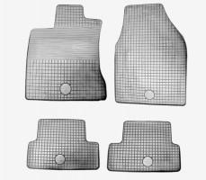 Комплект резиновых ковров Nissan Qashqai 06 grey> Gz/Doma