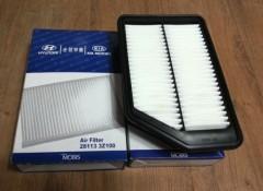 Воздушный фильтр оригинальный Hyundai/Kia 281133Z100