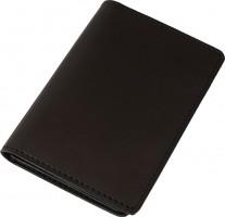 Обложка для документов темно-коричневая, без логотипа
