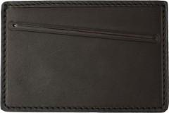 Обложка для прав/тех.паспорта темно-коричневая, без логотипа