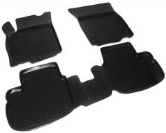 Коврики в салон для Fiat Sedici '06- полиуретановые, черные (L.Locker)