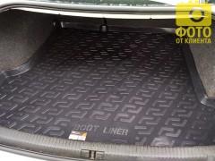 Фото 6 - Коврик в багажник для Volkswagen Passat B5 '97-05 седан, резино/пластиковый (Lada Locker)