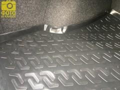 Фото 8 - Коврик в багажник для Volkswagen Passat B5 '97-05 седан, резино/пластиковый (Lada Locker)