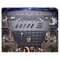 Фото 1 - Защита картера двигателя для Daewoo Lanos '98- Мотор: 1.5; 1.6 (Полигон-Авто)