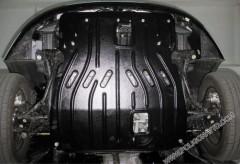 Защита двигателя и КПП для Chery Kimo '07-14 A1 1,3 (Полигон-Авто)