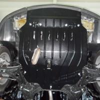 Защита двигателя и КПП для Chevrolet Aveo '02-12 1,2; 1,4; 1,5; 1,6 (Полигон-Авто)