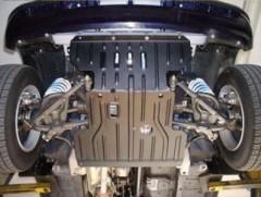 Защита двигателя и КПП для Chevrolet Niva '02-, 1,7 (Полигон-Авто)