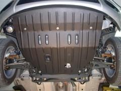 Защита двигателя и КПП для Ford Fusion '02-12, 1,4, 1,6 (Полигон-Авто)