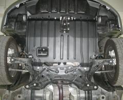 Защита картера двигателя для Geely Emgrand EC7 '11-, 1,8, АКПП (Полигон-Авто)