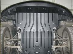 Защита картера двигателя для Lexus LS '06-17, задний привод (Полигон-Авто)