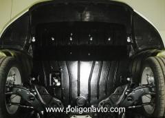 Защита двигателя и КПП для Mazda 6 '13-, 2,0; 2,5, АКПП (Полигон-Авто)