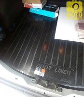 Фото 3 - Коврик в багажник для Ford Focus 3 (III) '11- седан, резино/пластиковый (Lada Locker)