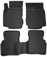 Коврики в салон для Nissan Note '06-13 полиуретановые, черные (L.Locker)