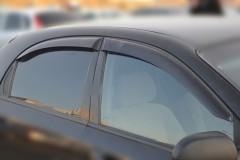 Дефлекторы окон для Chevrolet Lacetti '03-12, хетчбек (Cobra)
