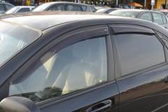 Дефлекторы окон для Chevrolet Lacetti '03-12, седан (Cobra)