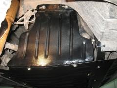 Фото 1 - Защита шкивов для Renault Master '05-10, 2,5DI (Полигон-Авто)