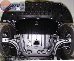 Защита картера двигателя для Renault Megane '08-16, 1,5Cdi (Полигон-Авто)