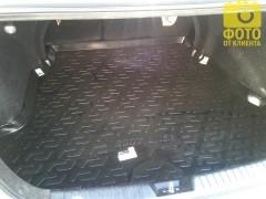 Фото 10 - Коврик в багажник для Hyundai Elantra HD '06-10, резино/пластиковый (Lada Locker)