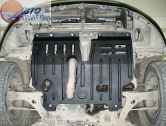 Защита картера двигателя для Toyota Avensis '03-08, 1,6; 1,8; 2,0 (Полигон-Авто)