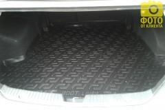 Фото 4 - Коврик в багажник для Hyundai Sonata '10-15, резино/пластиковый (Lada Locker)