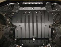 Защита двигателя для Toyota Land Cruiser 200 '07-, 4.5; 4.7 (Полигон-Авто)