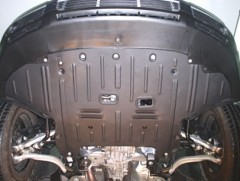 Защита картера двигателя для Volkswagen Passat B5 '97-05, МКПП (Полигон-Авто)