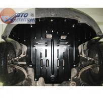 Защита картера двигателя для Volkswagen Passat B5 '97-05, АКПП (Полигон-Авто)