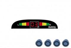 Парктроник Parkcity Madrid с датчиками серо-голубого цвета (4 датчика)