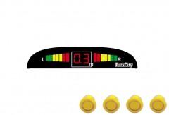 Парктроник Parkcity Madrid с датчиками желтого цвета (4 датчика)