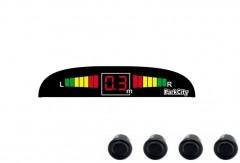 Парктроник Parkcity Madrid с датчиками черного цвета (4 датчика)