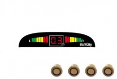 Парктроник Parkcity Madrid с датчиками темно-золотого цвета (4 датчика)