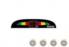 Парктроник Parkcity Mars с датчиками светло-золотого цвета (4 датчика)