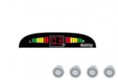 Парктроник Parkcity Mars с датчиками серебристого цвета (4 датчика)