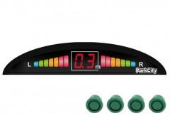 Парктроник Parkcity Riga 18мм с датчиками зеленого цвета (4 датчика)