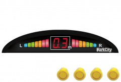 Парктроник Parkcity Riga 18мм с датчиками желтого цвета (4 датчика)