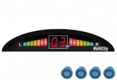 Парктроник Parkcity Riga 18мм с датчиками цвета морской волны (4 датчика)