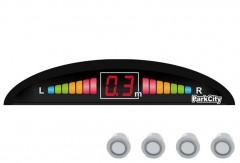 Парктроник Parkcity Smart с датчиками серебристого цвета (4 датчика)